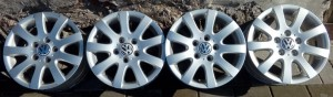 ALUFELGI VW GOLF TOURAN CADDY R15 ET50 5X112
